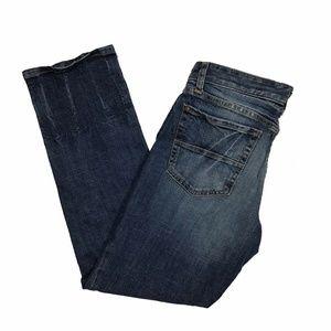 Gap Jeans Slim Fit Boyfriend Medium Wash Stretch W